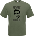 """Stone Me, What A Life"" Tony Hancock T-Shirt - British Comedy Legend"