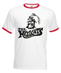 Hellcats Ringer T-Shirt - 1960s, Biker, Outlaw, Motorcycle, All Sizes & Colours
