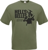 Hell's Belles T-Shirt - 1960s, Film, Biker, , Motorcycle, All Sizes & Colours