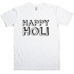 Holi T-shirt - Festival Of Colours, India, Various Sizes/Colours