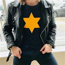 Star Of David Long Sleeved T-shirt, Worn By Jimmy Cliff In The Harder They Come