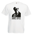 James Joyce Quote T-Shirt - Various Sizes/Colours, James Joyce, Literature, Author, Poet