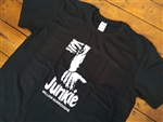 William S. Burroughs 'Junkie' T-Shirt - Book, Writer, Various Sizes/Colours