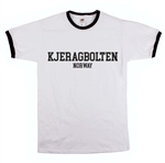 Kjeragbolten Norway T-Shirt, Tee, Top, Retro, Ringer, Travel, Hiking, Adventure, Hiker, Outdoors, Clothing, Norwegian, Nordic, Scandi, Scandinavian, Hipster