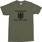 Krautrock Deutschland Eagle T-Shirt - Various Sizes/Colours, 1960s, retro, 1970s, tshirt top, Germany