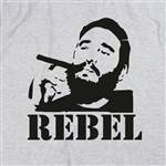 "Fidel Castro ""Rebel"" T-Shirt, Various Colours, Cuba, Political, All Sizes"