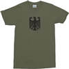 German Army Eagle Bundeswehr T-Shirt - Available In Various Colours & All Sizes
