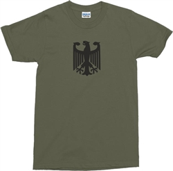 German Eagle T-Shirt - Bundeswehr, Army, Various Colour T Shirts, Military, Retro, Top