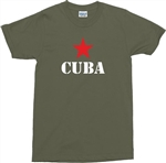 """Cuba"" T-Shirt - Logo, Revolution, Castro - All Sizes & Colours"