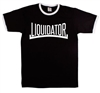 Liquidator Ringer T-Shirt - Retro, 1960's, Football, Ska, Mod, Various Colours