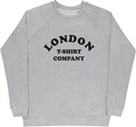 London T-Shirt Company Retro Raglan Sweatshirt - Cult, S-XXL & Various Colours, 60's, 70's, Vintage Style, Sub Culture, Counter Culture, Jumper, Sweater