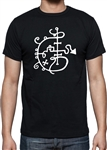 Lucifer Rising Symbol T-shirt - esoteric symbols, Cult Film, Psychedelic, Various Sizes/Colours
