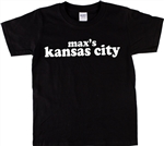 Max's Kansas City T-Shirt - Legendary NYC Club, As Worn By Lemmy, punk, 1960s, 1970s, nightclub, rock n roll, retro, motorhead