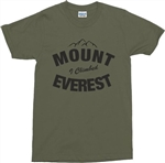 'I Climbed Mount Everest' Custom Printed T-Shirt - Add Your Mountain Name, S-XXL, Vintage Style, Retro, Tshirt, Top, Hiking, Outdoors, Mountain, Tshirt, Top,