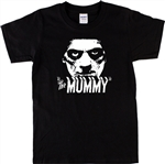 The Mummy T-Shirt - Retro 30's Horror Movie, Boris Karloff, S-XXL Various Cols, Tshirt Top