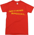 Nothing Special Punk Stencil Font T-Shirt (Customise the text optional) , Punk Rock, Grunge, Retro, 1970s, tshirt, Rebel Top
