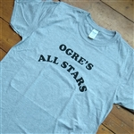 Ogre's All Stars T-Shirt - As Worn By Frank Zappa, 1960's, Retro, S-XXL, Various Colours Rock & Roll, Retro, Vintage Style, Counter Culture, Tshirt Top