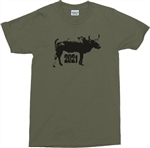 Year Of The Ox T-Shirt - Chinese New Year, 2021, Various Colours, Tshirt Top