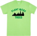 'Plant More Trees' T-shirt - Protest, Global Warming, S-XXL, Various Colours, Vegan, Nature, Save The Planet, Tshirt Top