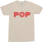 Retro 1960's POP T-Shirt - Various Colours, S-XXL, 60s, 70s, Vintage Style, Retro Font, Tshirt, Top, Counter Culture, Popular