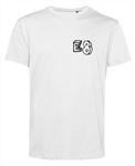 Custom Printed Postcode Organic Cotton T-Shirt - Personalised T Shirts, S-XXL, Customised Tshirt Top, Eco