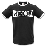 Psychobilly Ringer T-Shirt - Rockabilly, Rock'n'Roll, Punk, All Sizes & Colours