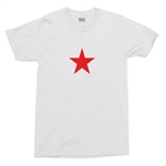 Red Star T-Shirt As Worn By Sharon Tate - Retro 1960's Unisex Top, S-XXL, 60's, Charles Manson, Madmen, Hollywood Actress