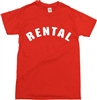 Rental T-shirt - As Worn By Frank Zappa, All Sizes/Colours