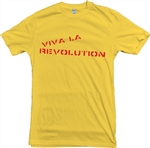 Viva La Revolution T-Shirt - Various Colours, Adicts, Protest, Tee, Top, Punk, Retro, 1970s, 1980s, Rock, Anti,