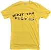 'Shut The F*ck Up' Punk Stencil Font T-Shirt (Customise the text optional) , Punk Rock, Grunge, Retro, 1970s, tshirt, Rebel Top
