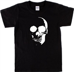 Skull T-Shirt - Gothic, Punk, Rock, Retro, Hell Raiser, - Various Colours, S-XXL - Wicca, Pagan, 1970's Style, Occult, Horror, Tshirt Top,