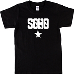 Soho Star Souvenir T-Shirt - Retro, Psychedelic, London, S-XXL, Various Colours, Gift, Quirky, Different, Craft, Tshirt Top, Bohemian, 60's, 70's, Glam Rock
