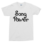 Song Power T-Shirt - As Worn By Glenn Frey, The Eagles, Retro, 1970s, Rock, Top