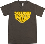 'Sound Saves' T-Shirt - Retro, 1960's, 1970's, Rock n Roll, Also In Black, S-XXL, Vintage Style, Band, Tshirt Top, Slogan