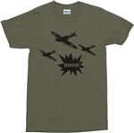 Spitfire T-Shirt - Retro, WW2, British Fighter Aircraft, Various Colours, S-XXL, Army, Military, Vintage Style, Souvenir, Tshirt Top