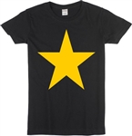 Glam Rock Style Star Ladies Fit T-Shirt - Various Colours - 1960's, 1970's, Top, Retro, Glam Rock, Punk