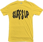 Surf's Up T-Shirt, Surfer, Top, tshirt, Retro, 1950s, 1960s, 1970s, Vintage Style, Beach Boys, Dick Dale, Bunker, Surf Rock,