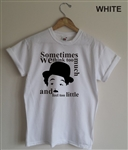 Charlie Chaplin T-shirt - 'Think Too Much' Great Dictator Speech, All Sizes/Cols