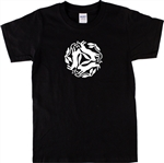 Three Hares T-Shirt - Ancient Folklore, S-XXL Various Colours, Mythology, legend, Folklore, Tattoo, tshirt top