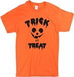 'Trick Or Treat' Halloween T-Shirt - Horror, Party, Various Colours, S-XXL, Gothic, Goth, Retro, 60's, 70's, Vintage Style Tshirt Top,