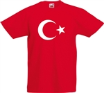 Turkish Flag T-shirt - Football, Ottoman, Istanbul, Islam, Various Sizes