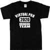 Virtual Pub Drinking Team T-Shirt - Various Colour TShirts, Slogan T Shirt. Lock Down, Virus