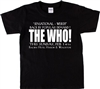 The Who Railway Hotel 1965 Gig Poster T-Shirt - 1960s Mod Band, All Sizes And Colours