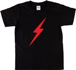 Lightning Bolt T-Shirt - Retro 1970's Style, Superhero, Glam, Various Colours, 60s, 70s, Surf, Rock & Roll, TShirt Top