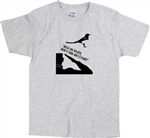 Magpie Superstitious Quote T-Shirt - British, Humour, Gift, Various Cols, S-XXL, Bird, Superstition, Tshirt Top, London