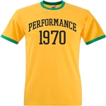 Performance 1970 Ringer T-Shirt - Cult Gangster Film, Jagger
