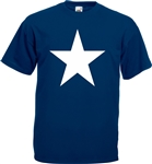 Star T-Shirt -  retro, pop art, glam rock, 1970's