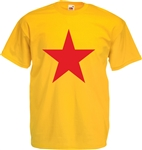 Star T-Shirt - , Glam Rock, 1970's