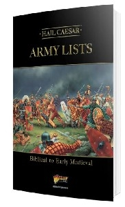 Warlord Games - Hail Caesar Army Lists - Biblical to Early Medieval
