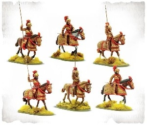 Warlord Games - SPQR Macedonian Cataphract Cavalry